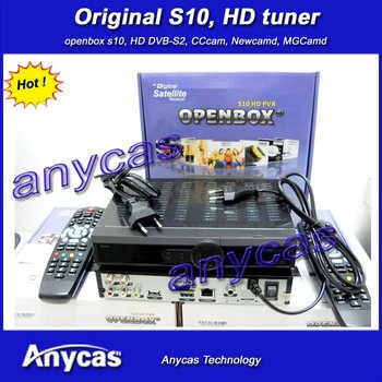 Original openbox s10, new openbox s9, skybox s10,  free shipping Post , hd pvr satellite receiver decoder, cccamd newcamd mgcamd