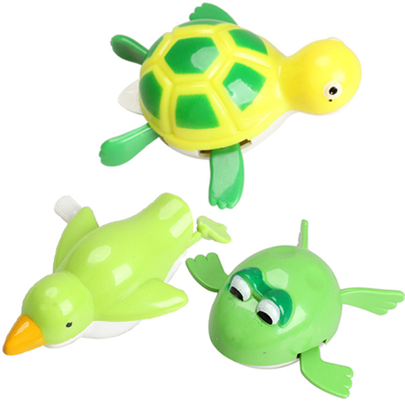 Free Shipping New Wind up Frogman Bath Diver Toy Swimming Frog Baby Kids Bathing Toys<br><br>Aliexpress