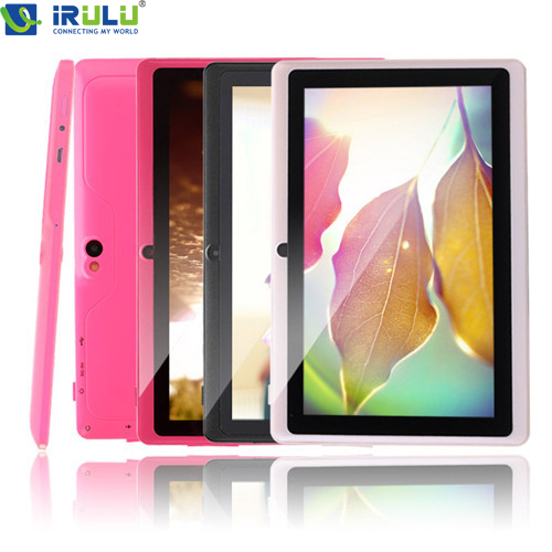 IRULU Android Tablet 7 8GB Android 4 4 Quad Core Tablet PC 1024 600 HD Computer