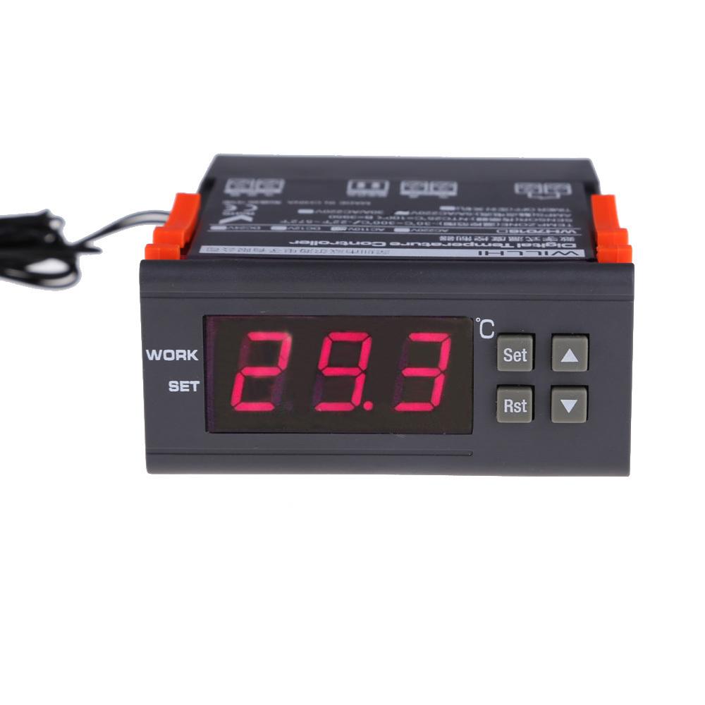 Гаджет  High Quality WILLHI Digital Temperature Controller Centigrade 220V -30~300C NG4S None Инструменты