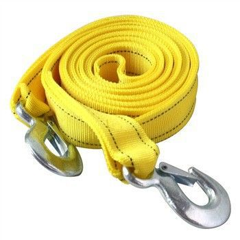5Tons High Strength Car Tow Cable Towing Strap Rope With Hooks,Emergency For Heavy Duty 4x4 Car(China (Mainland))
