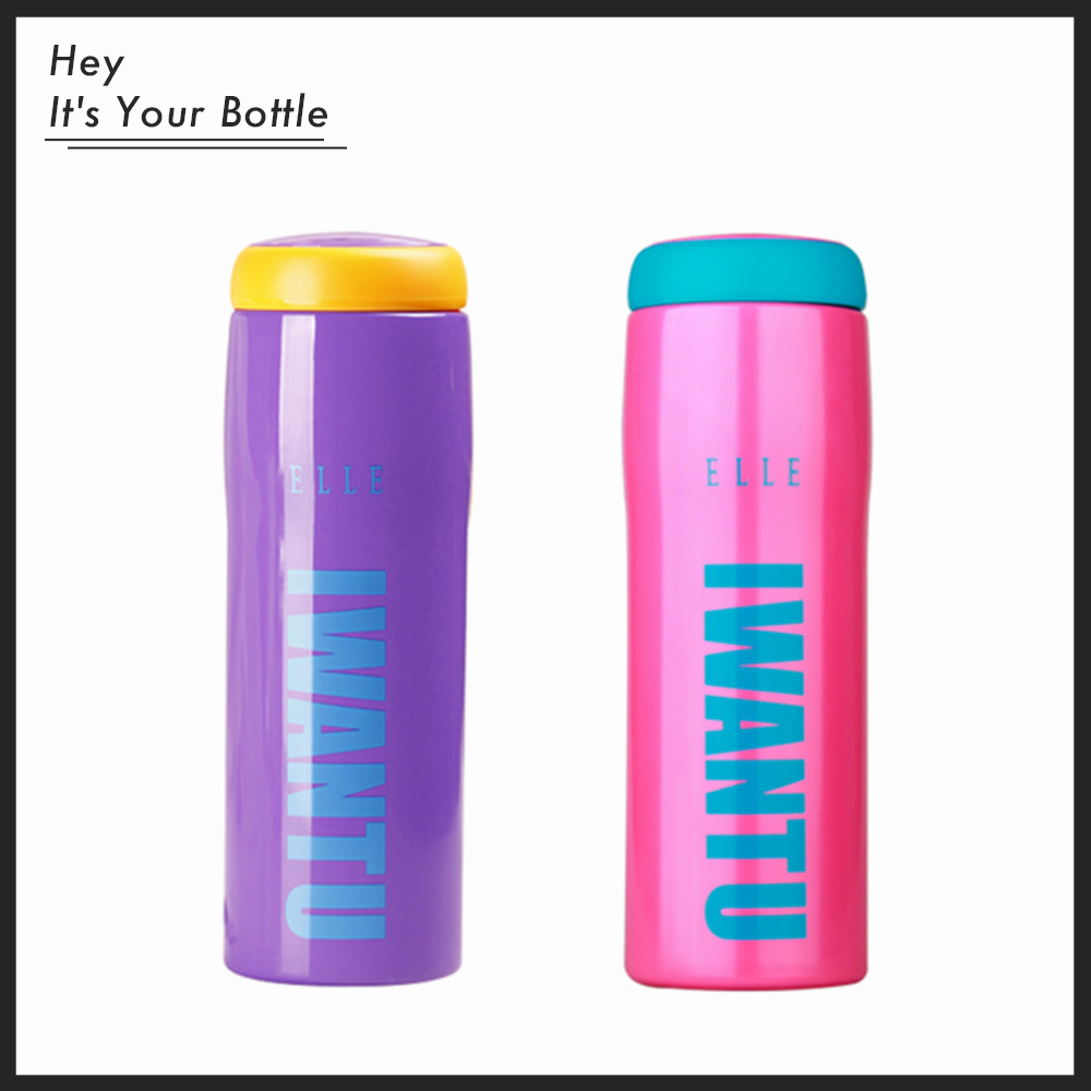 Love Gift I Want You Bottle Thermos Mug Stainless Steel Vacuum Flask Present Travel Business Coffee Home Use 500ml(China (Mainland))