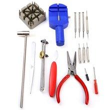 16 in 1 Watch Clock Opener Tool Repair Kit Pin Remover(China (Mainland))