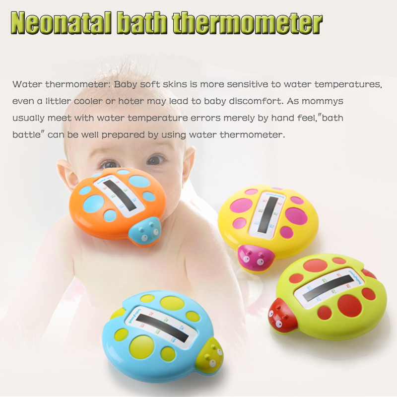 Hot Sale Neonatal Water Thermometers Cute Image Baby Bath Thermometer Bathtubs Shower Testing Water Temperature Baby Avoid Burns(China (Mainland))