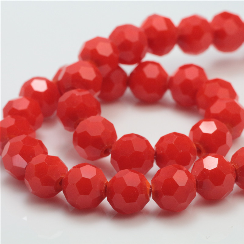 Crystal Beads 6mm Round Football Faceted Selectable Color,Natural Stone Beads For Jewelry Making Diy Bracelet Free Shipping(China (Mainland))