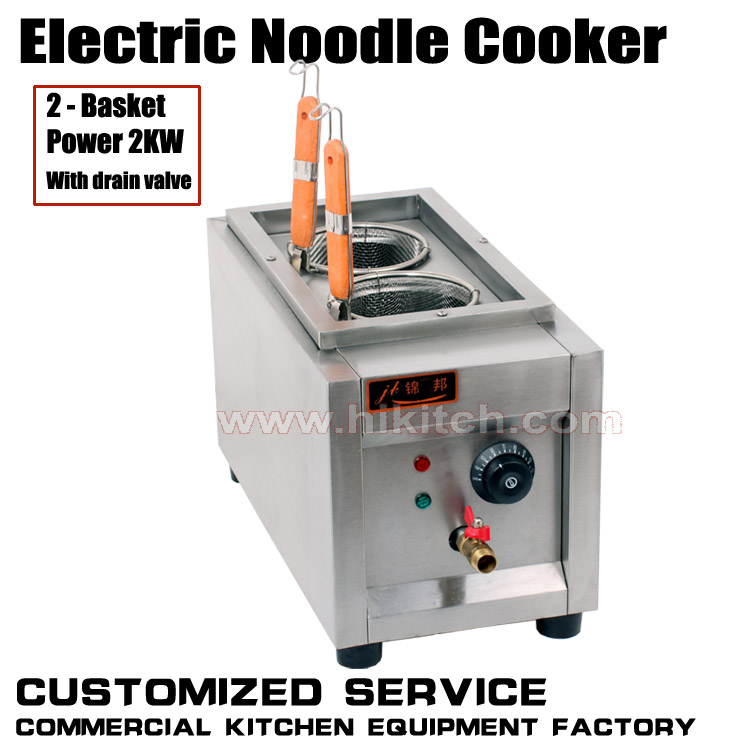HIGH quality Commercial 2KW electric noddle cooker/ pasta cooker(China (Mainland))