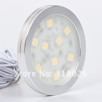 9LED Down Light SMD5050 1.8W 12v 120lm Furniture Decorative Display Show Case(Hong Kong)