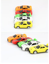 6pcs Hot  cute MiniToy Cars Best Christmas birthday Gift Car Set Children Vehicle Toys baby birthday Christmas gifts Wholesale(China (Mainland))