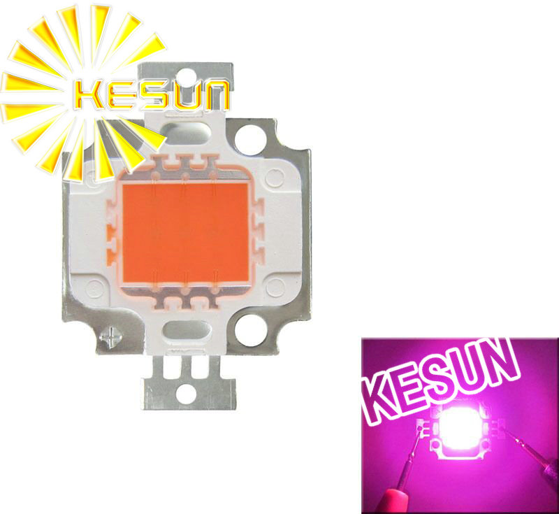 10 шт х 10W Сид удара чип растут полным спектром 380nm~840nm полный спектр привело светать для завода растут