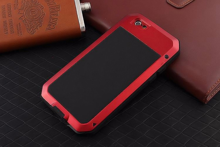 Luxury Dirt Shock Waterproof Shockproof Aluminum Gorilla Metal Cover Case for iPhone 6 6S /For iphone 6 6S plus Armor