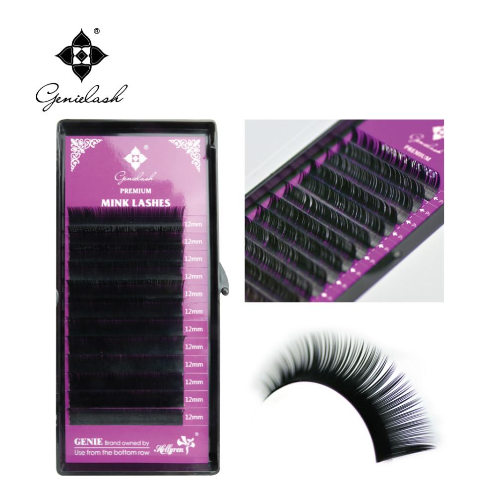 All Size 4 Cases J B C D Curl Individual Eyelashes Mink Eyelashes Extension Artificial Fake False Eyelashes(China (Mainland))