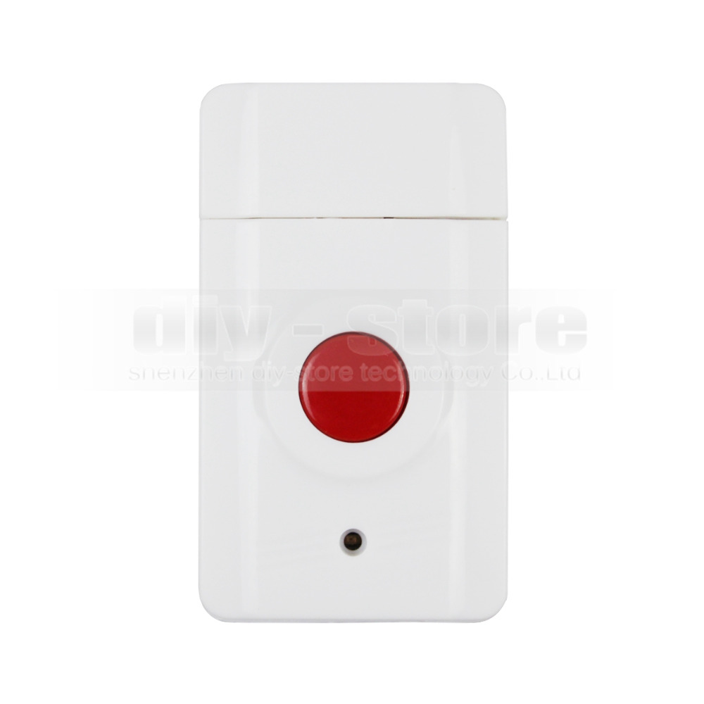 Ja-01 wireless emergency button related to home alarm home security system, 433MHz panic button(China (Mainland))