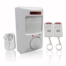 106dB Wireless IR infrarrojo del Detector De movimiento De alarma De seguridad remota Syster Detecteur De movimiento alarma De la mordedura Alarme envío gratis(China (Mainland))