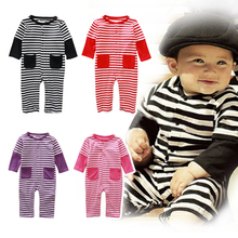 KNB New Arrival Autumn Baby Rompers Long-Sleeve Newborn Baby Boy Clothes Winter Suit Bebe Girls Clothing Jumpsuit ACHY063(China (Mainland))