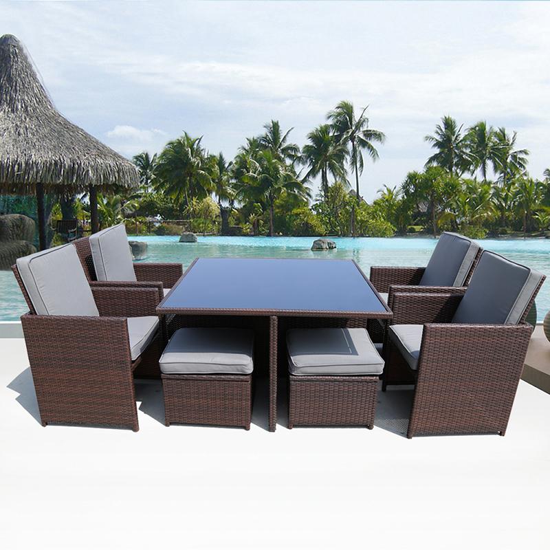 achetez en gros rotin table en ligne des grossistes. Black Bedroom Furniture Sets. Home Design Ideas