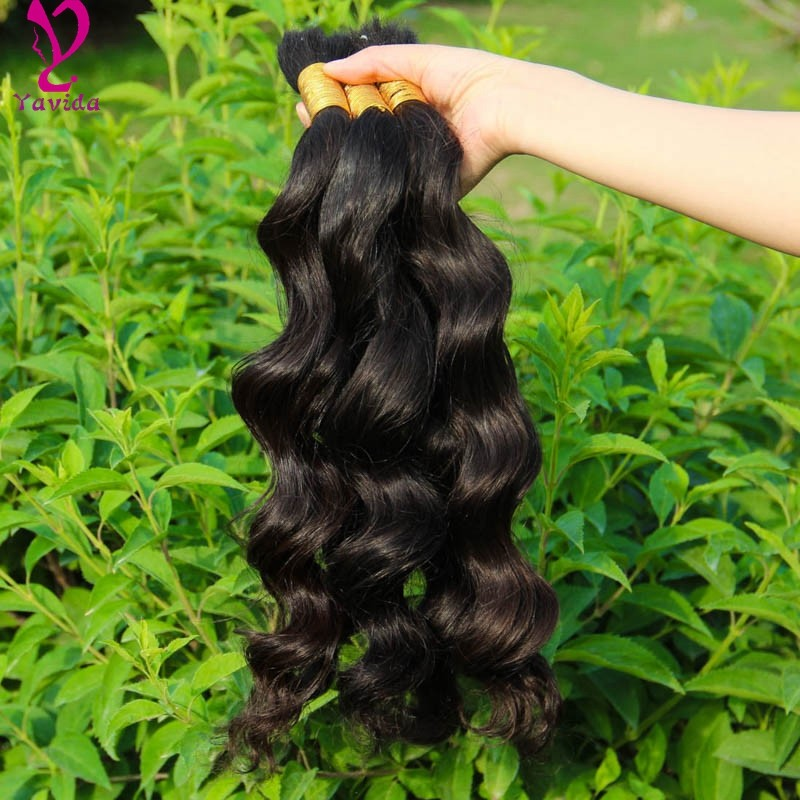 8A1KG Virgin Indian Human Hair Unprocessed Remy Loose Wave Bulk Human Hair Wholesale Human Hair For Braiding Bulk No Attachment