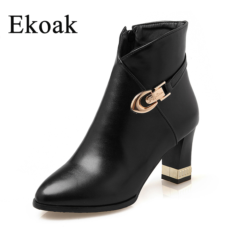 Amazing Style Women Boots 2016 Vintage Ankle Boots Platform Casual Shoes Woman