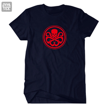 Grant Ward Agent of SHIELD Hydra Red Skull short sleeve t shirt tee MARVL Coulson costume jersey 100% cotton(China (Mainland))