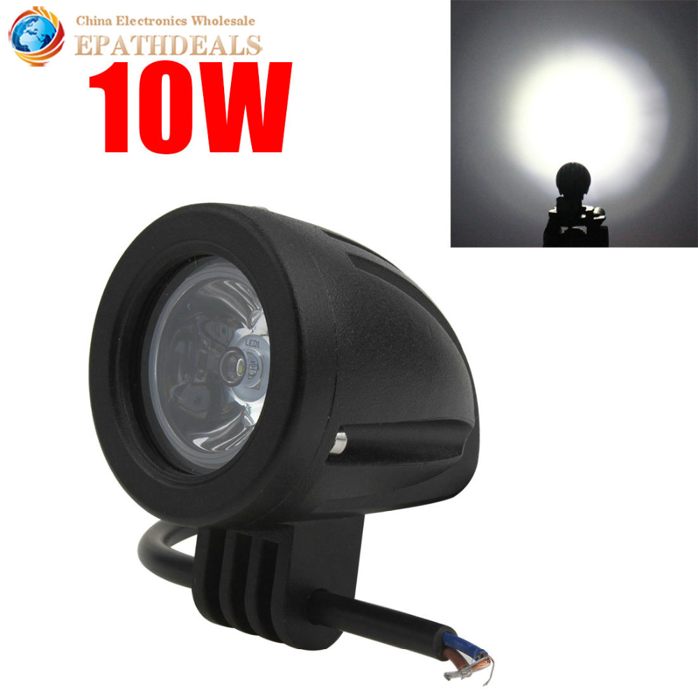 Waterproof 760LM 10W Offroad Car LED Work Light Cree LED Driving Fog Lamp for Car / Motorcycle / Boat / ATV(China (Mainland))