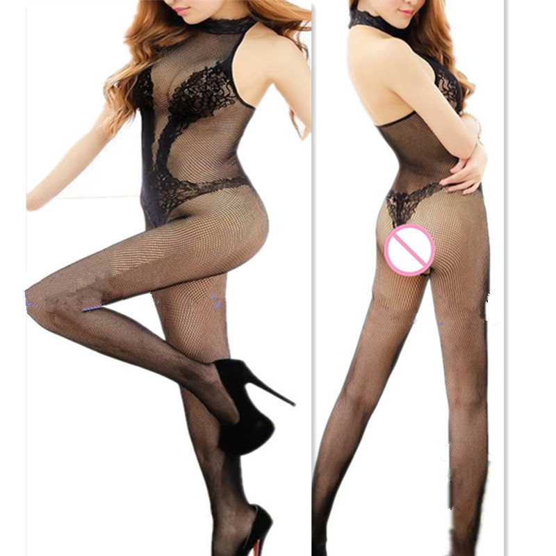 Hot Womens Hosiery Tights Full Body Crotchless Sexy Tights Women Bodysuits Stockings Women Sexy Lingerie(China (Mainland))