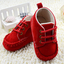 0-18M Newborn Kids Baby Girl Shoes Soft Sole Lace Sneakers(China (Mainland))