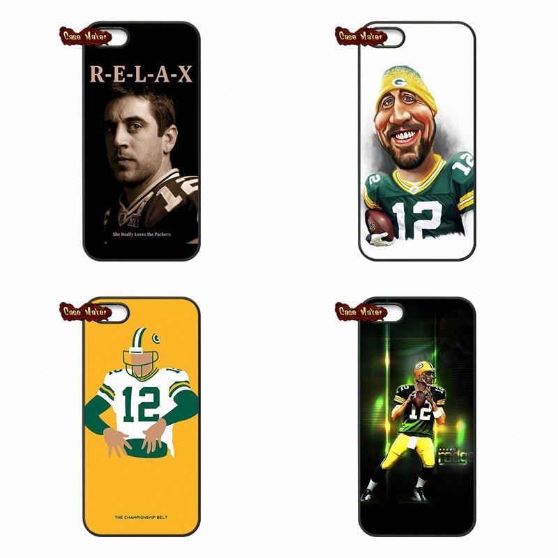 Aaron Rodgers Green Bay Packers Case Cover For Xiaomi Mi2 Mi3 Mi4 Mi4i Mi4C Mi5 Hongmi Redmi 2 3 Note 2 3 Pro(China (Mainland))