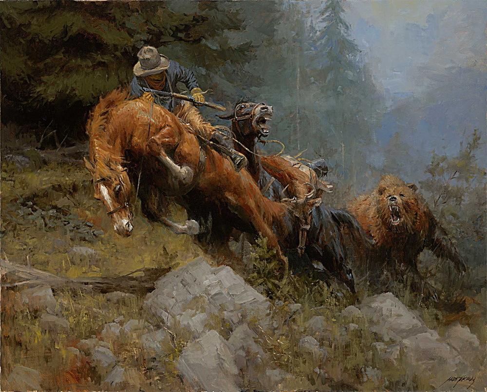 Famous cowboy art - photo#8