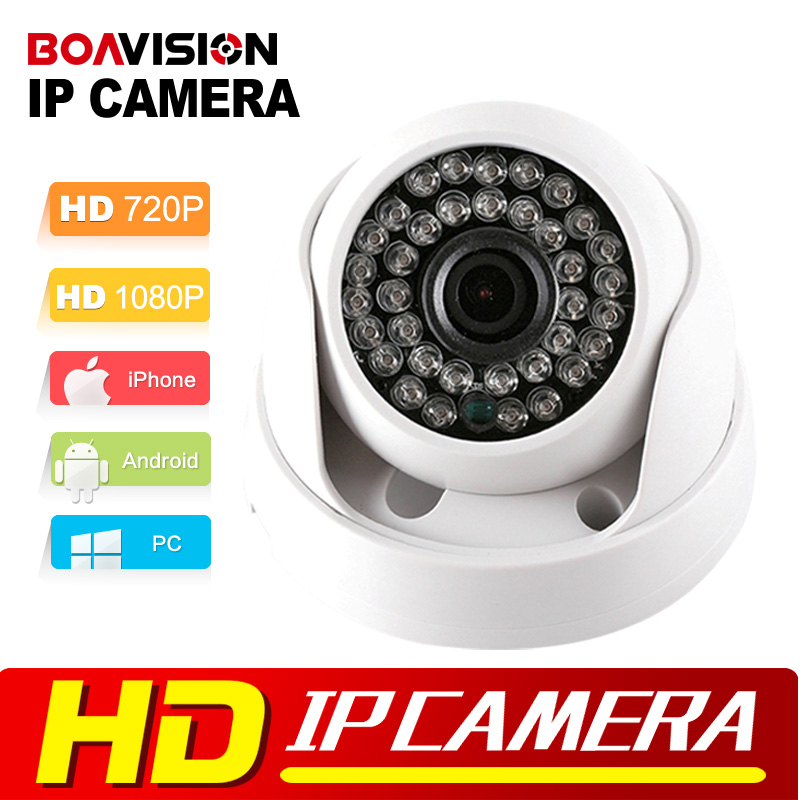 HD IP Camera 720P 1080P Indoor Dome Cam IR Lens 3.6mm 2MP IP CCTV Security Camera Network Onvif P2P Android iPhone XMEye View(China (Mainland))