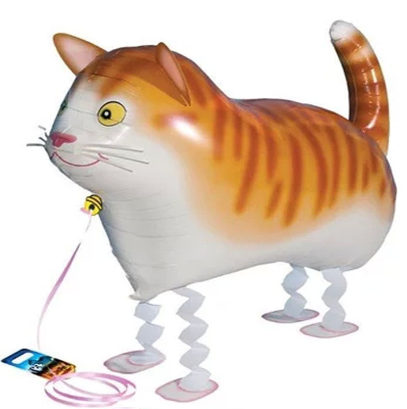 60x39cm classic toys air balloons airwalker balonlar decoration wedding cat balloons foil helium inflatable airwalker balloons(China (Mainland))