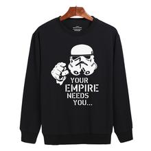 Star Wars New Hoodies Men Brand Designer Mens Sweatshirt Men with Luxury Harajuku Sweatshirt Men Brand XXL(China (Mainland))