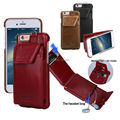 Pierre Cardin Premium Genuine Leather Protective Credit Card Carrying Wallet Hard Case Cover For Apple iPhone
