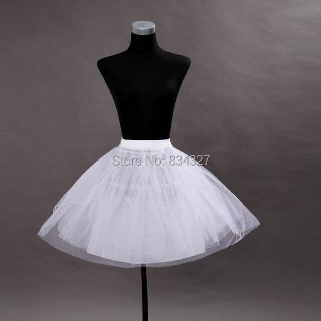 hoop crinoline short tulle petticoat ball dresses stock fast shipping tutu dress - CelebFashion store