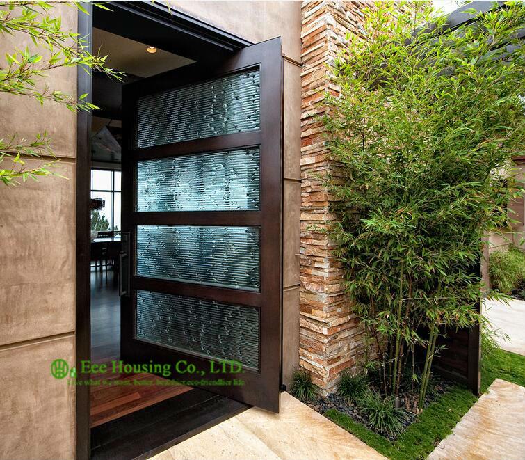 Acquista all 39 ingrosso online porte d 39 ingresso con vetro da - Porte ingresso vetro ...