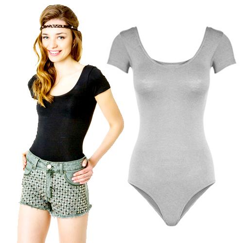 Fashion single aa u racerback bodysuit sexy short T-shirt basic shirt, free shipping(China (Mainland))