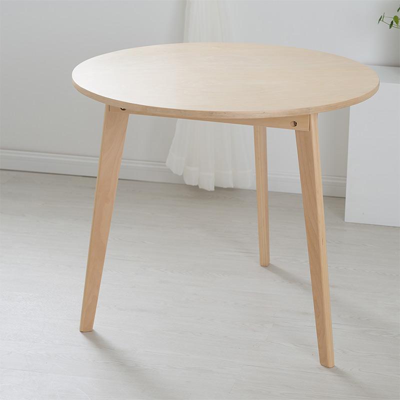 Online kaufen gro handel tisch rund holz aus china tisch - Mesa circular extensible ...