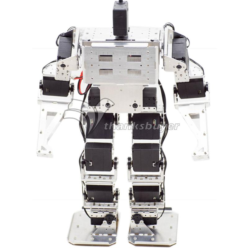 17 DOF Biped Robot Humanoid Anthropomorphic Combat Battle Finished Robot Height 38cm<br><br>Aliexpress