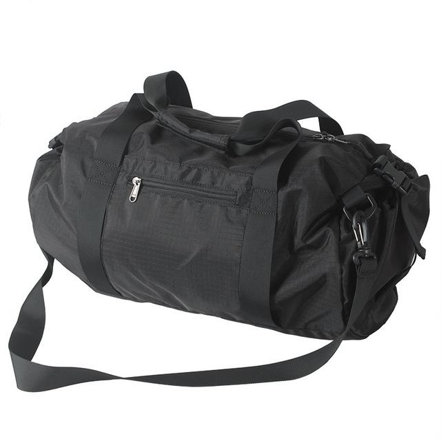 Мужчины нейлон твердые водонепроницаемый спортивную сумку спортивные сумки человек ...