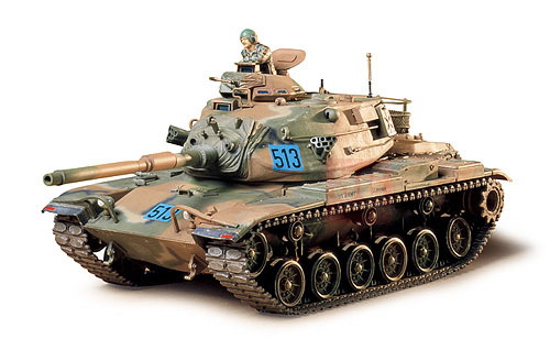 Tamiya tank model assembled 35140 1 / 35M60A3 Patton main battle tanks