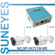 SunEyes CCTV Camera Kit with Two Wifi Outdoor Cameras