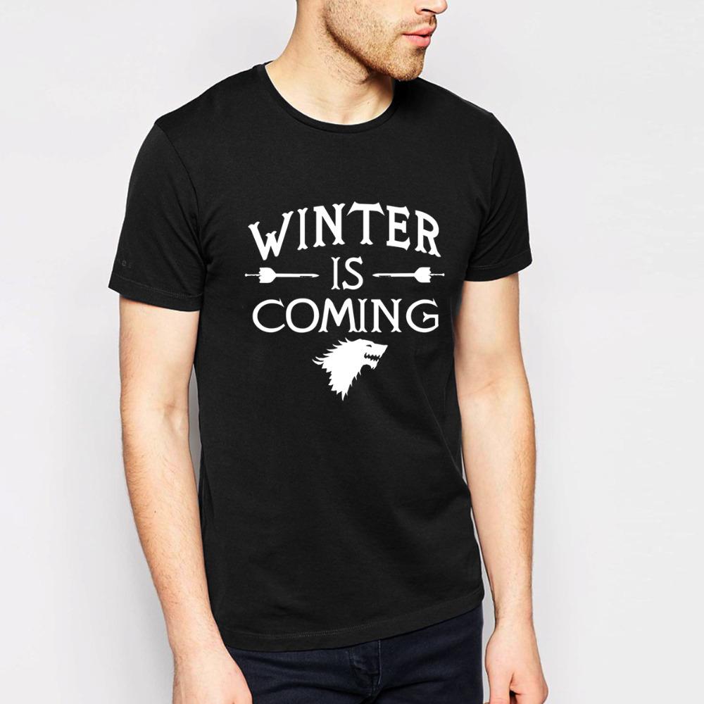 Game of Thrones Breaking Bad T Shirts Men Big Bang Theory Star Wars Man T Shirts