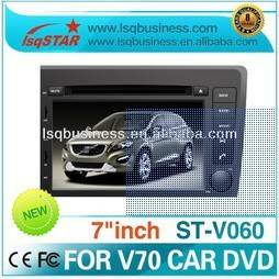 LSQ Star Cheap 2 Din 7 Inch Car Dvd PLAYER For Volvo V70 With Gps Navigation