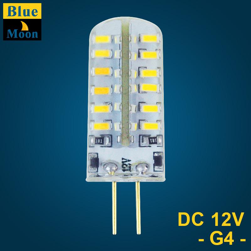 Гаджет  50PCS LED G4 3014 1.5w 3w 12v lamp with color box wholesale None Свет и освещение