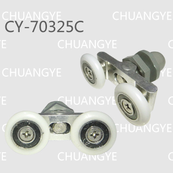 wholesale supplyshower plastic pulley(CY-60325)/shower roller<br><br>Aliexpress