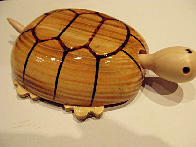 Cane woodproducts tortoise toy model wooden turtle bamboo crafts(China (Mainland))