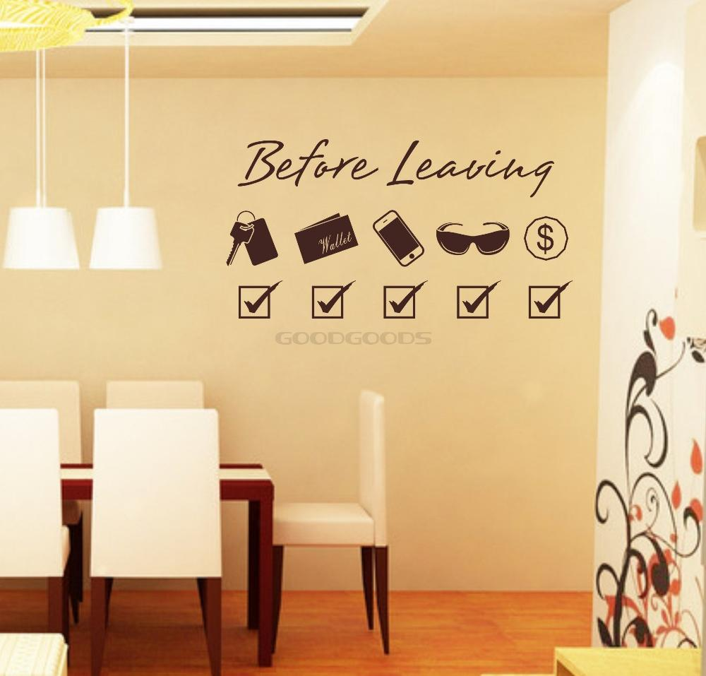 Sticker decor picture more detailed picture about new 2015 diy door stickers before leaving - Bedroom door decorations ...