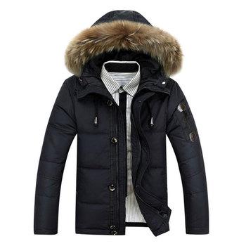 2015 горячая распродажа люди пуховик с капюшоном пальто толстые зимние куртки теплый утиный хлопка-ватник Packable парка M-XXXL открытый спортивной