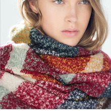Stoles shawls scarves 2016 tartan scarf women long new designer men's women scarves(China (Mainland))