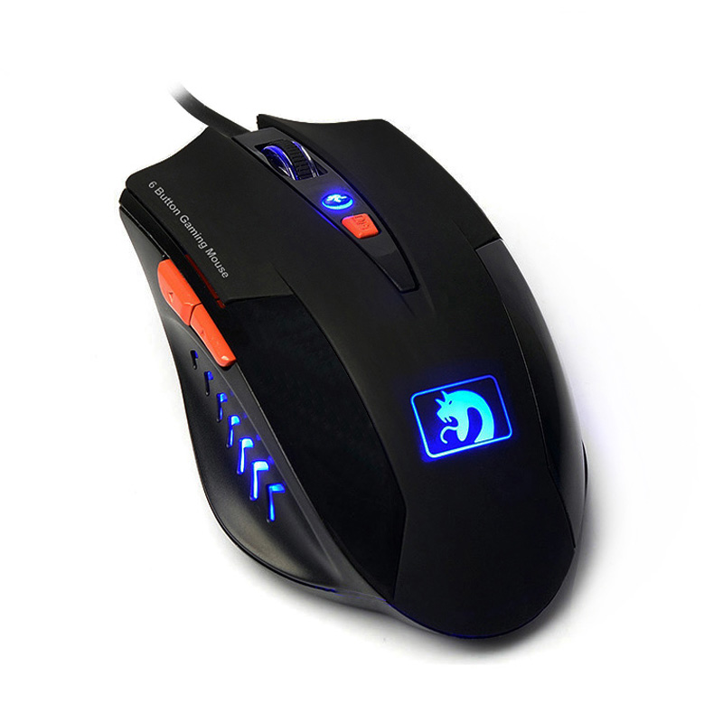 Technology XM-398 Glowing Wired USB PC Gaming Mouse Gamer Mice 2000DPI(China (Mainland))