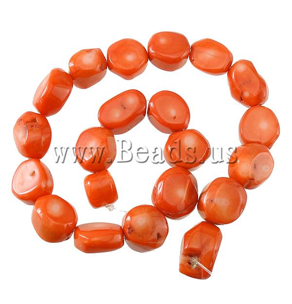 Free shipping!!!Natural Coral Beads,Christmas Gift, Nuggets, orange, 23x10mm, Hole:prox 1.5mm, Length:17 Inch, 10Strands/Lot<br><br>Aliexpress