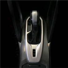 Buy Car Styling Renault Koleos 2017 2018 Accessories Abs Chrome Gear Box Moulding Trims Carbon Fiber Gear Trim Cover Sticker for $29.90 in AliExpress store